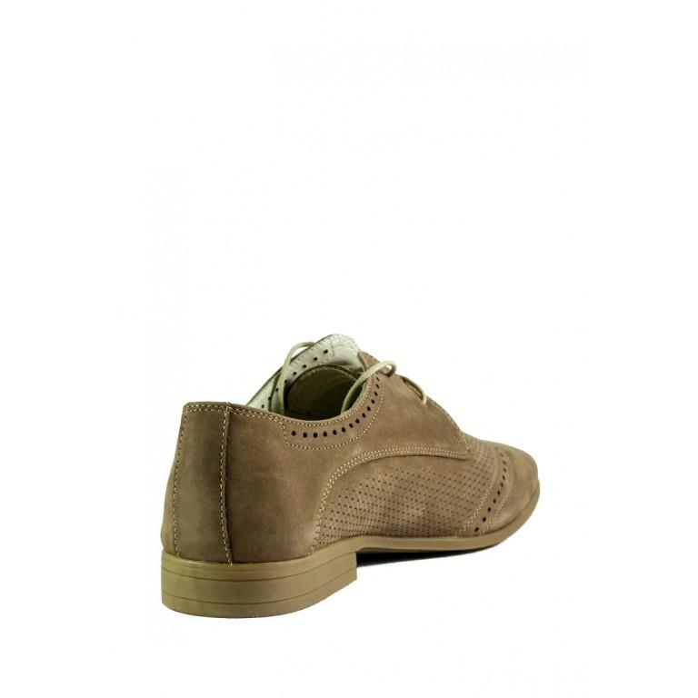 Туфли мужские MIDA 13308-11 кофе нубук