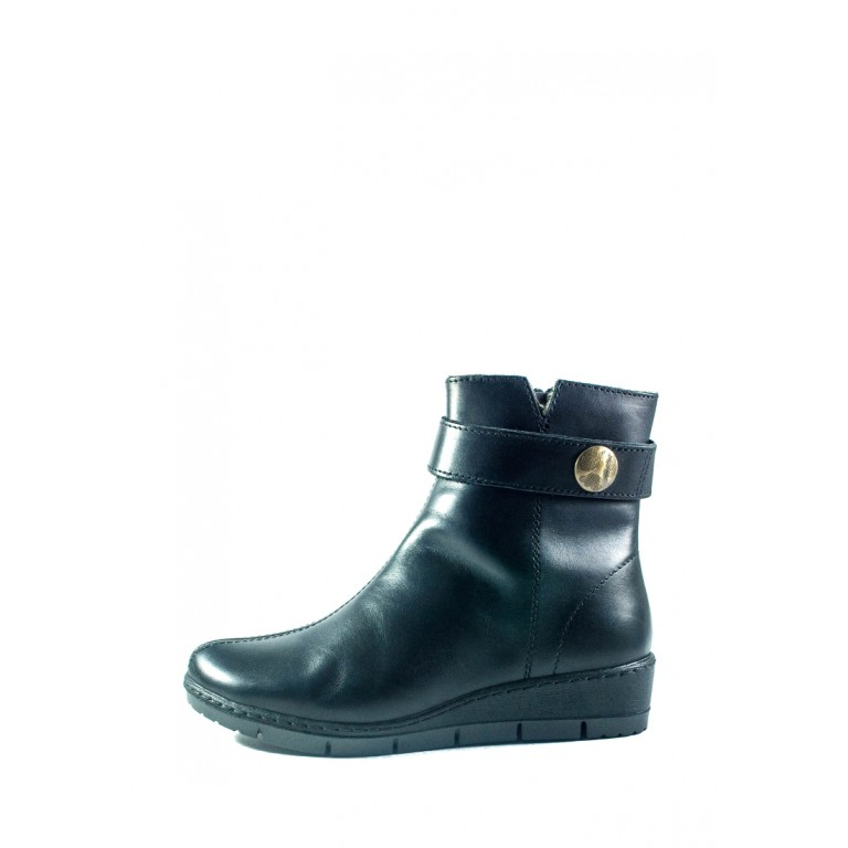Ботинки женские Inblu TD-7D черные