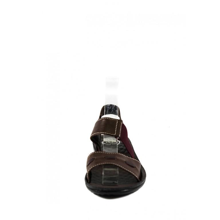 Сандалии женские TiBet 493-02-05 темно-коричневые