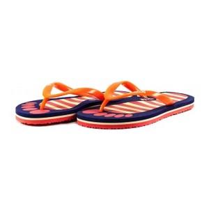 Шлепанцы детские 8951-А оранжево-сиреневый
