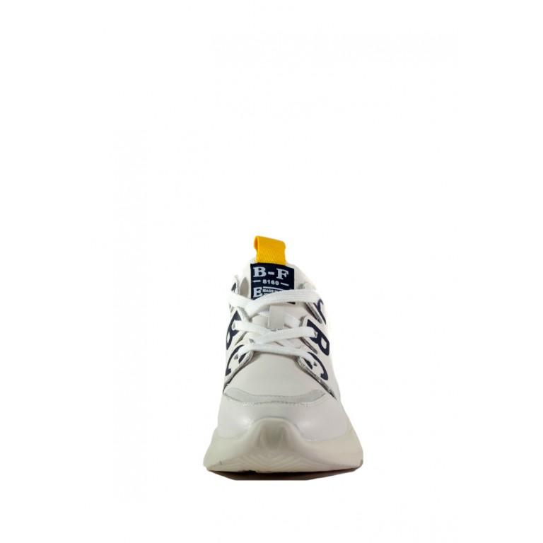 Кроссовки женские Allshoes 5092-1 белые