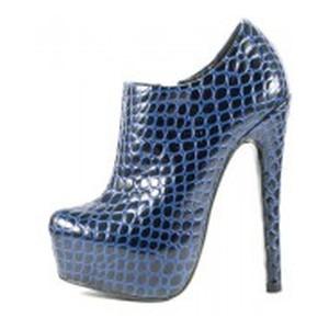 Ботильоны женские Elmira N5-114B2  синие