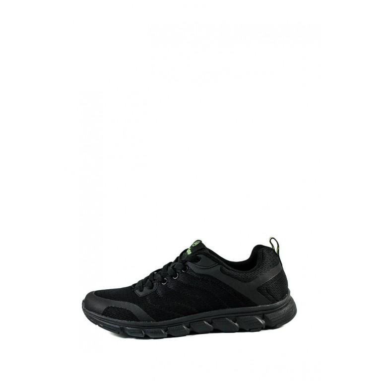Кроссовки летние мужские Restime PML20355 черные