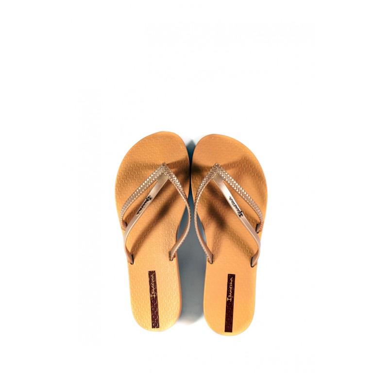Вьетнамки женские Ipanema 82067-24286 светло-коричневые