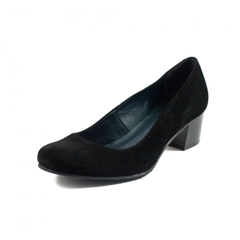 Туфли женские MISTRAL M503 черная замша