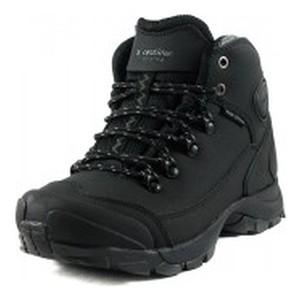 Ботинки зимние женские Restime PWZ19158 черные