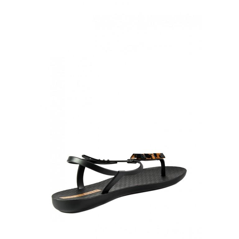 Босоножки женские летние Ipanema 82760-20116 черно-коричневые