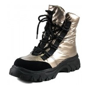[:ru]Ботинки зимние женские Prima D'arte 1616-F801-3 металлик[:uk]Черевики зимові жіночі Prima D'arte метал 19026[:]