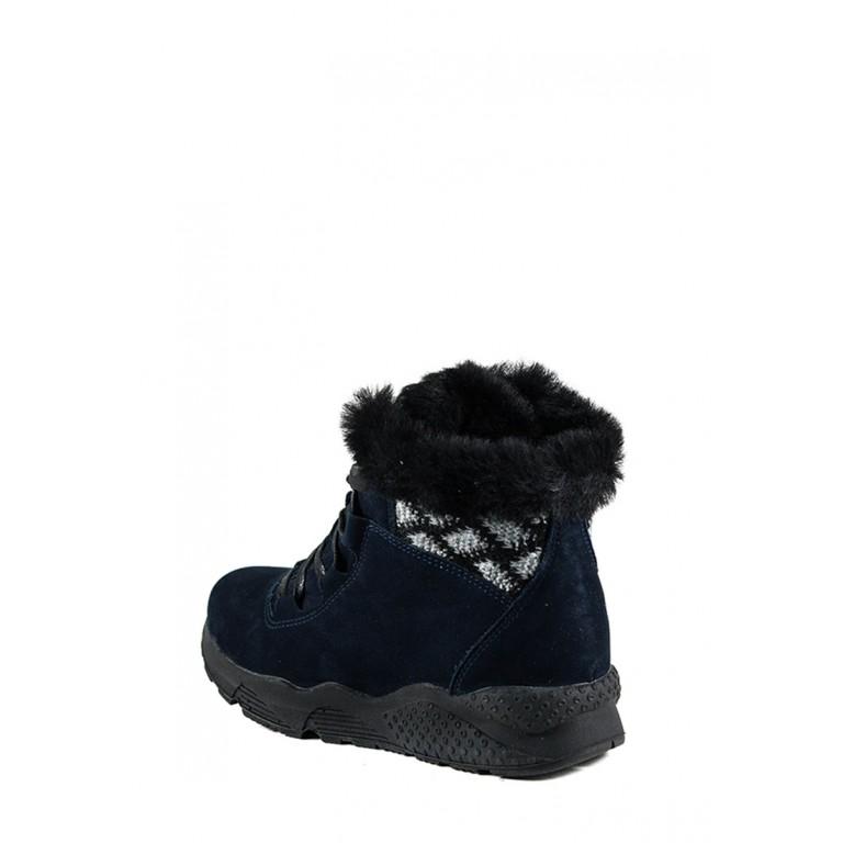 Ботинки зимние женские MIDA 24723-12Н синие