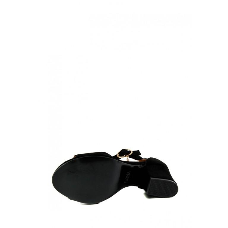 Босоножки женские летние Ilona СФ 604-IL-1В черные