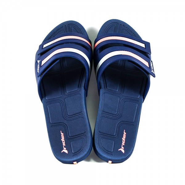 Шлепанцы женские Rider 82503-22455 серо-синий
