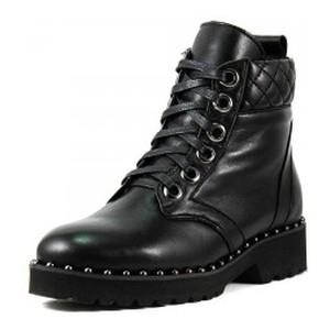 Ботинки зимние женские Lonza L-2555-2226LS ч.к