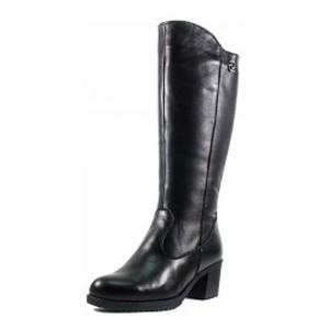 [:ru]Сапоги зимние женские SND SDZ41501-2 черная кожа[:uk]Чоботи зимові жіночі SND чорний 12328[:]