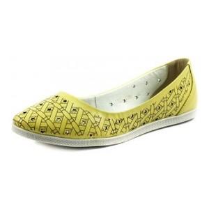 [:ru]Балетки женские SND SDTM1997 желтая кожа[:uk]Балетки жіночі SND жовтий 11558[:]