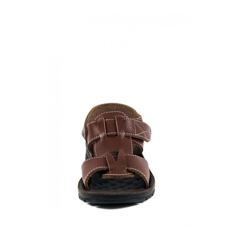 Сандали подростковые TiBet 004 коричневые