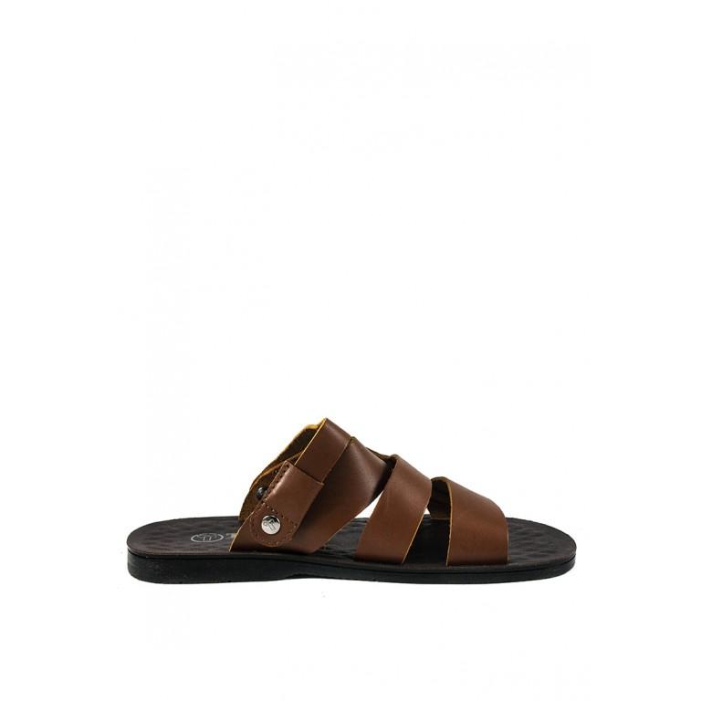 Сандалии мужские TiBet 42-1 коричневые