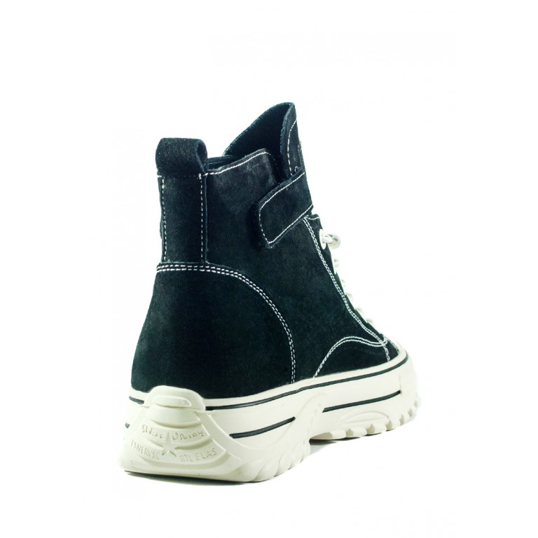 Ботинки демисезон женские Loris Bottega 99618 черные