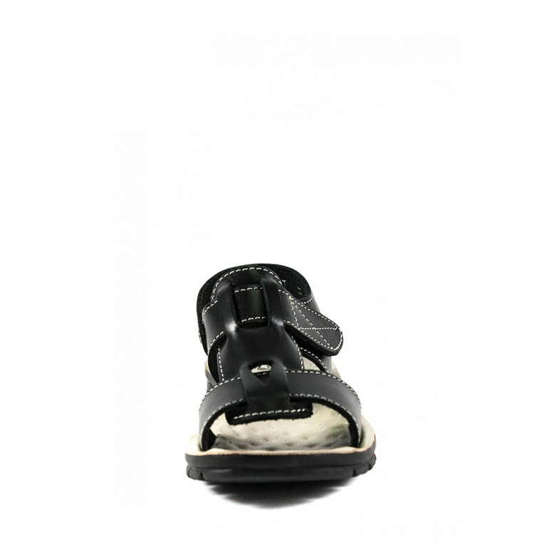 Сандали подростковые TiBet 004-03-01 черные
