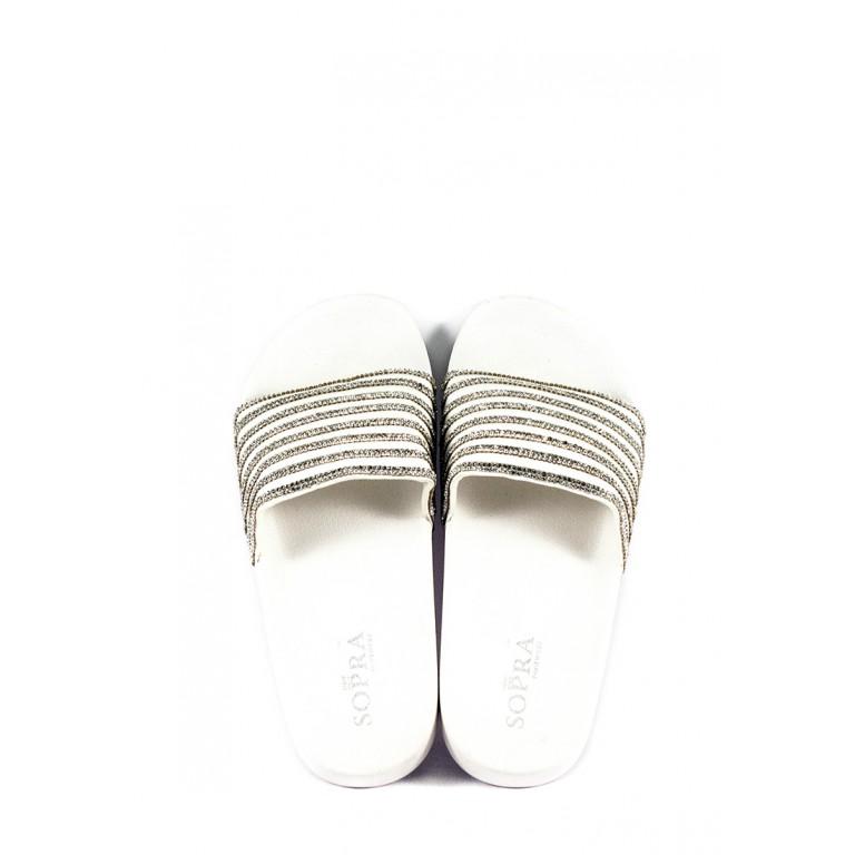 Шлепанцы женские Sopra СФ PC-17 белые
