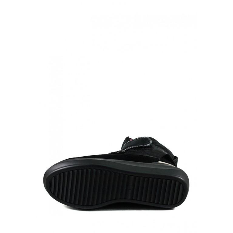 Ботинки зимние женские Lonza 3913-N530 черные
