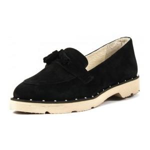 Туфли женские MIDA 21996-17 черная замша