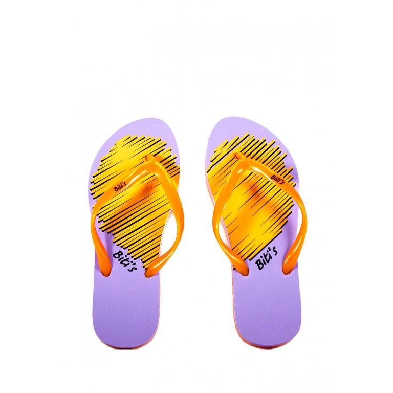 Шлепанцы женские Bitis 20911-Е фиолетовые