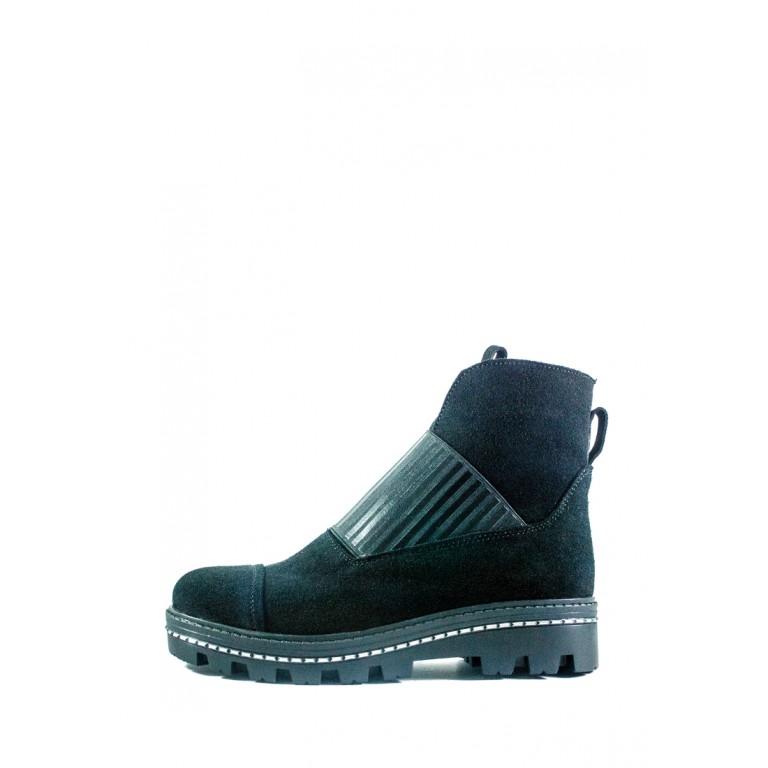 Ботинки демисезон женские CRISMA 2904B-Lisabon чз черные