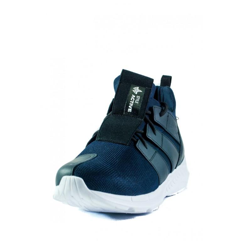 Кроссовки мужские MIDA 111449-4 черно-синие