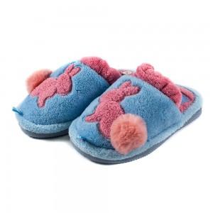 Тапочки комнатные детские Home Story 91258-EC голубые
