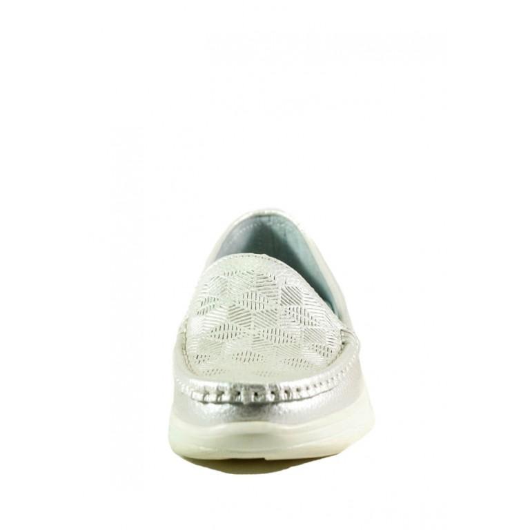 Мокасины женские Allshoes 206-21ZG-02 серые