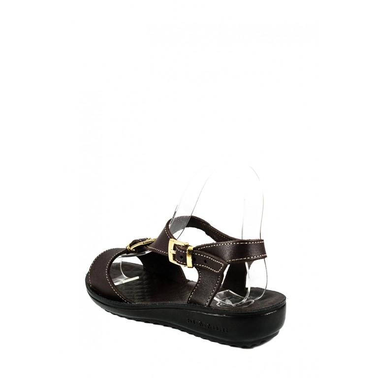 Сандалии женские TiBet 492-03-05 коричневые