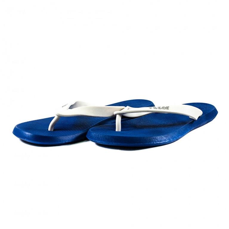 Шлепанцы мужские RAZOR MML18621 бело-голубые