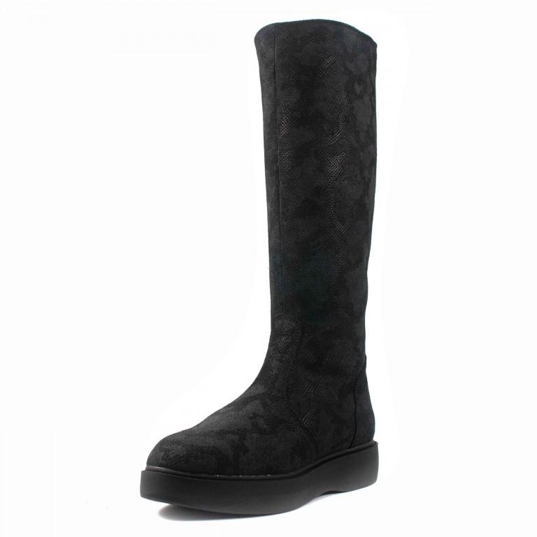 Сапоги зимние женские MIDA 24685-571Ш-1 черные