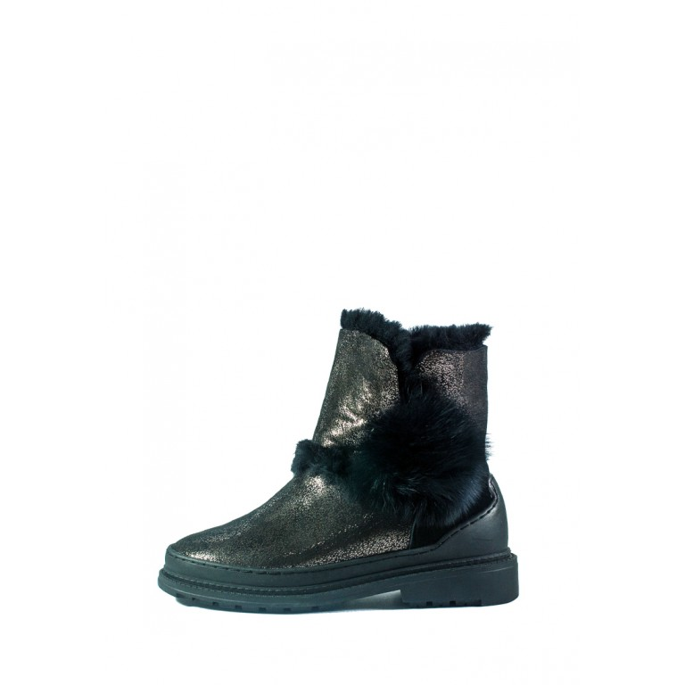 Ботинки зимние женские Allshoes СФ 605-PX382M-65-1 черные