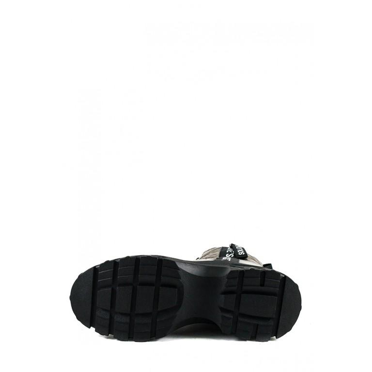 Ботинки зимние женские Prima D'arte 1616-F800-3 металлик