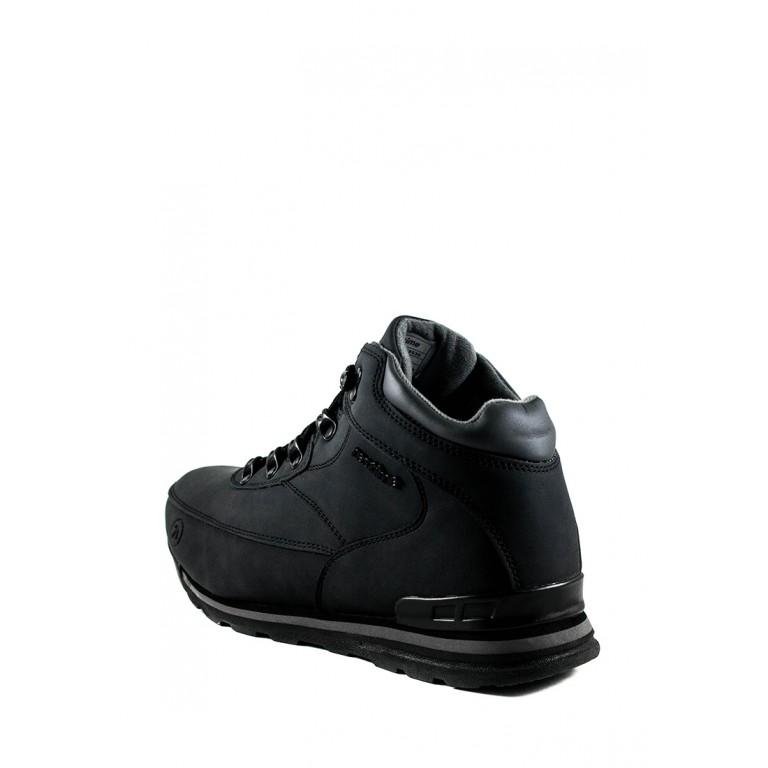 Ботинки зимние мужские Restime KMZ19530 черные