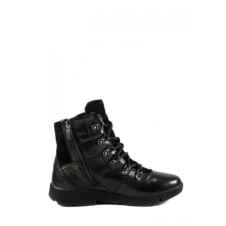 Ботинки зимние подросток MIDA 34181-16Ш черные