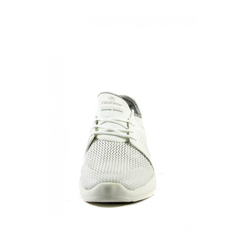 Кроссовки летние женские Restime PWL20133 белые