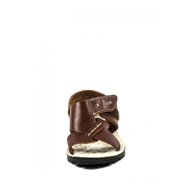 Сандали подростковые TiBet 002-03-04 коричневые