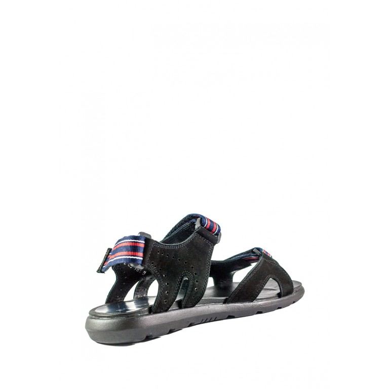Сандали мужские MIDA 130041-9 черный нубук