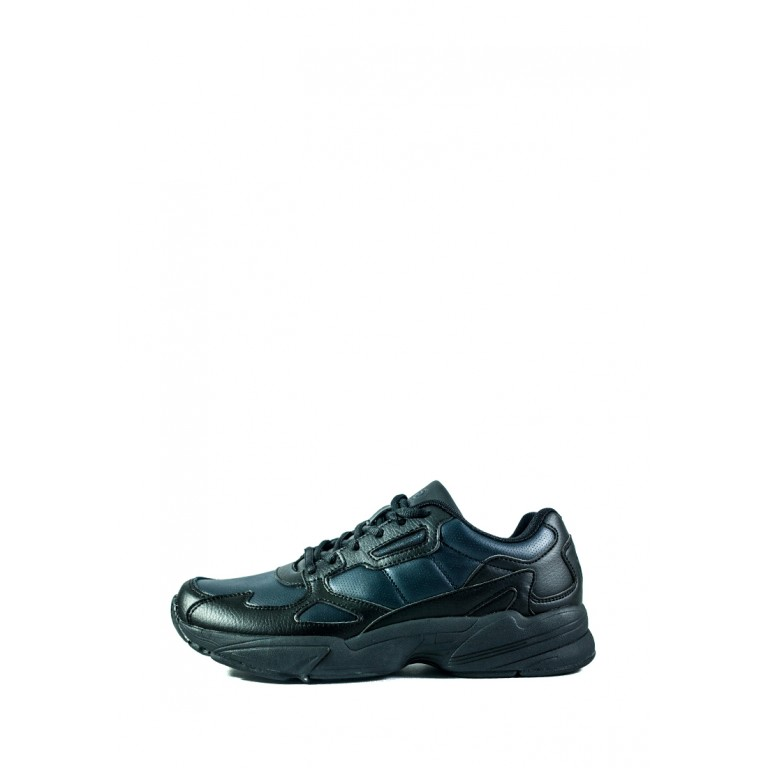 Кроссовки мужские Restime PMO20398 черно-синие