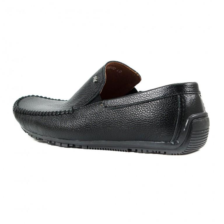 Мокасины мужские Alexandro AO18500 черные