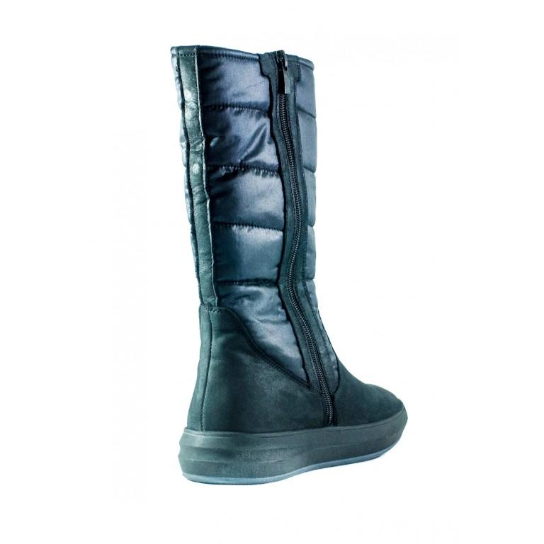 Сапоги зимние женские MIDA 34121-624Ш черные
