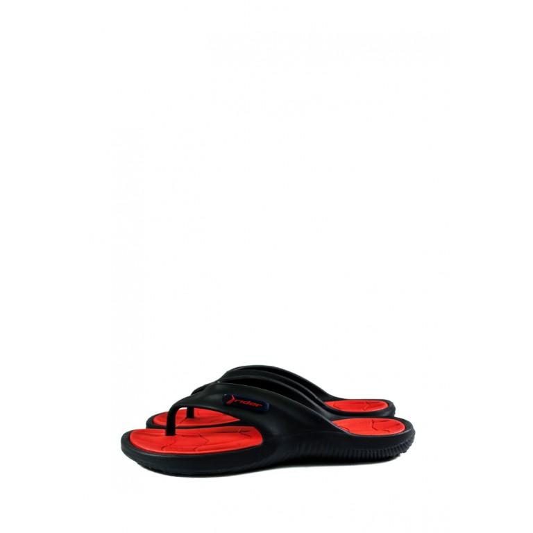 Вьетнамки мужские Rider 82818-20698 черно-красные