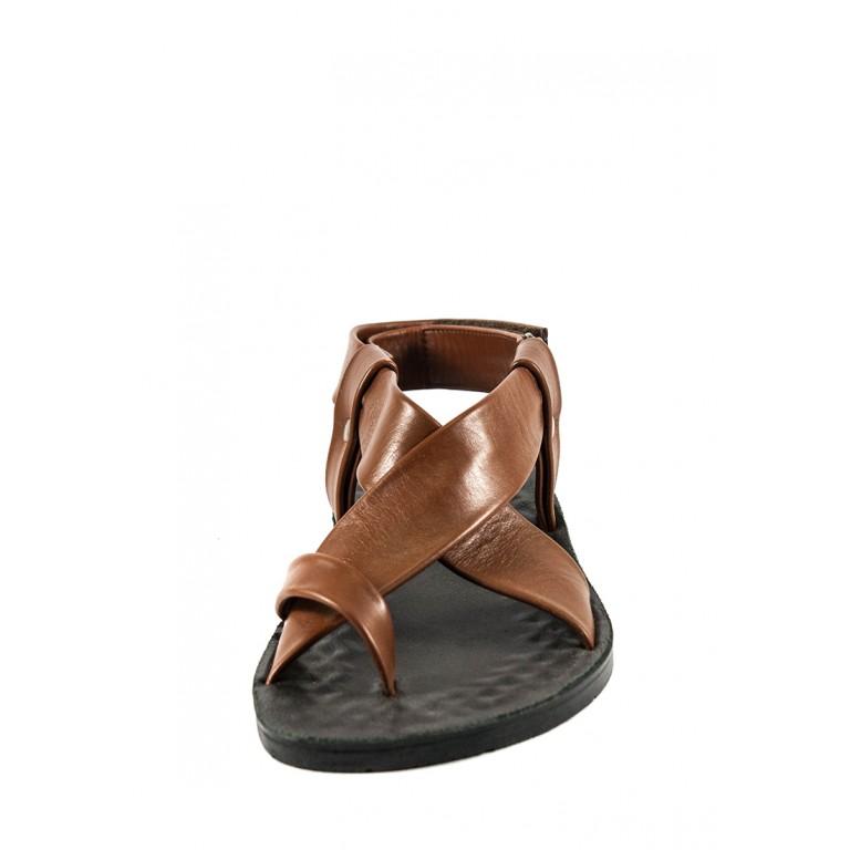 Сандалии мужские TiBet 308-02-04 коричневые