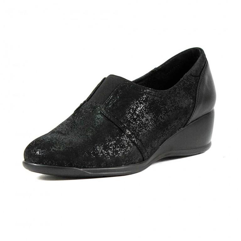 Туфли женские MIDA 21821-578 черная кожа