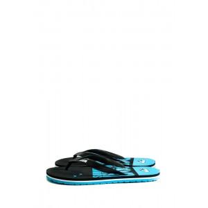 Шлепанцы подростковые 9961-А сине-черные