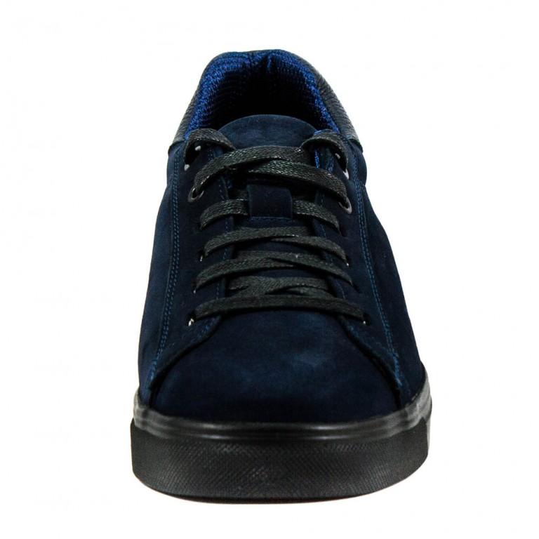 Кеды мужские MIDA 110891-12 темно-синий нубук