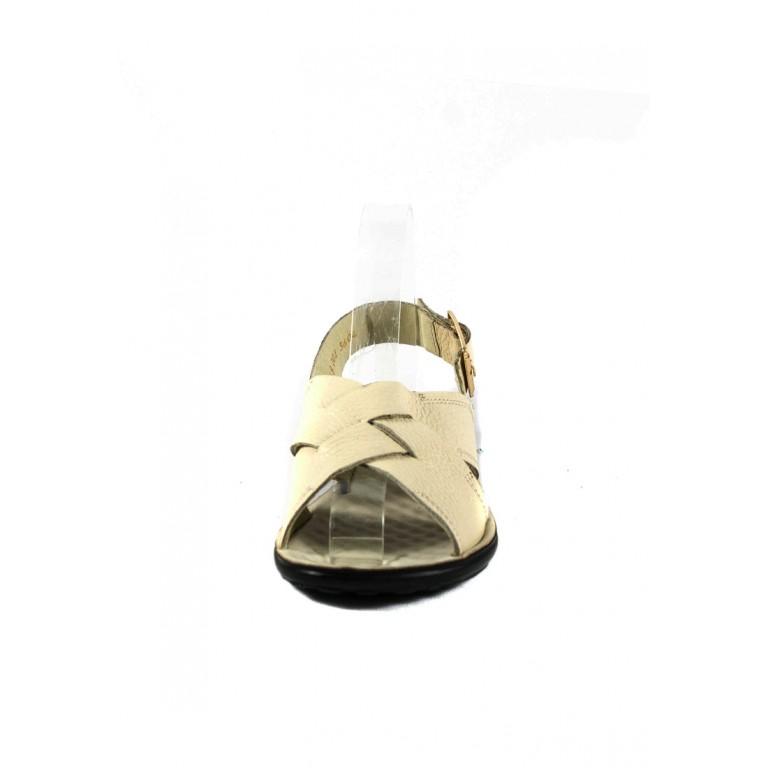 Сандалии женские TiBet 202-02-09 светло-бежевые