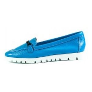 Мокасины женские MIDA 21965-98 голубые